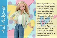 """"""" Party Store """" - Fashion Collectible Photo Card Mattel - Barbie Doll Postcard"""