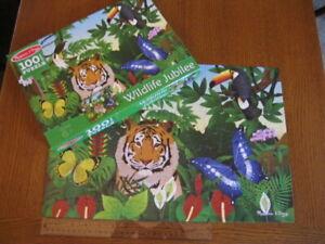 Melissa & Doug 100 pc Puzzle Wildlife Jubilee