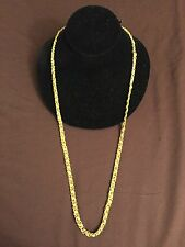 CHAN LUU Sterling Silver Clasp GOLD TONE NECKLACE W/GOLD CROSS,SKULL CHARMS