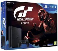 Sony Gran Tourismo Sport 500GB PS4 Bundle (The real driving simulator) - Black