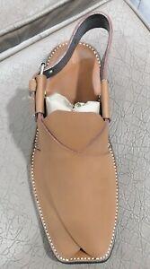 Handmade Peshawari, Charsadda Chappal, Pure Leather Men Sandals, Soft Soles