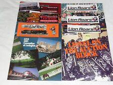 2001 LCCA - THE LION ROARS - 6 ORIGINAL BIMONTHLY ISSUE MAGAZINES