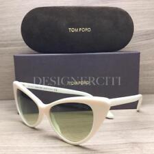 Tom Ford Nikita TF173 173 Sunglasses Ivory White 25P Authentic 55mm