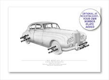 Bentley S3 1963 A5 stampa