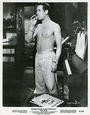 PAUL NEWMAN PARIS BLUES 1961 VINTAGE PHOTO ORIGINAL #1