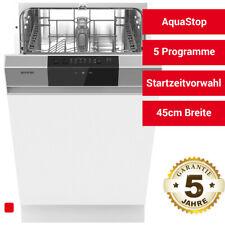 Gorenje GI52040X Teilintegrierbarer Einbau Geschirrspüler Spülmaschine