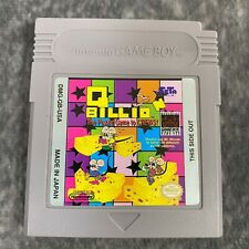 Q Billion Nintendo Game Boy Color Advance Game Cart Only Genuine Puzzler