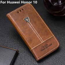 CASE For Huawei Honor 10 Magnetic Flip Wallet Stand Slots LEATHER Back Cover