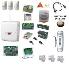kit absoluta COMPLETO bentel +outgate sirsen + 3x bmd 504 + snodi + IP NO INIM