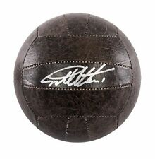 More details for sir geoff hurst signed football - retro ball autograph