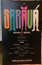 SARAVA - Broadway Poster Windowcard RARE