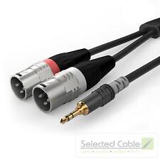 SOMMER CABLE Basic 1,5m 3,5mm Klinke Adapter Kabel XLR Stecker   HBA-3SM2-0150