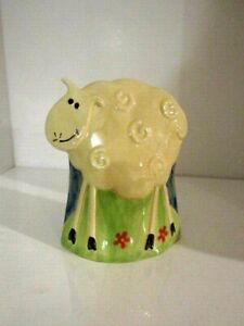 Ceramic Standing Cow Figurine Rustic Country Kitchen Home Decor
