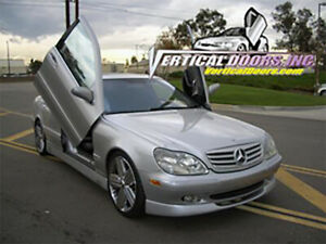 Vertical Doors - Vertical Lambo Door Kit For Mercedes S-Class 2000-06