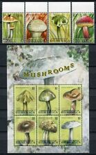 Dominica 2009 Pilze Funghi Mushrooms Pflanzen Plants 3937-46 ** MNH