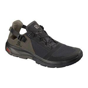 Salomon Men's Techamphibian 4 Water Shoes, Black / Beluga  PN: L40680800