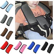 2pcs Car Grey Softly Seatbelt Pad Strap Cover Harness Shoulder Pad for Citroen