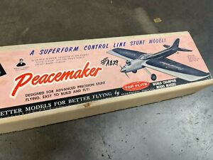 Top Flite's The PEACEMAKER Control Line Stunt Model Airplane Kit