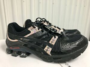 Asics Gel Kinsei OG $180 Black Gold Multicolor 10 1021A174 001 Men Running Shoes