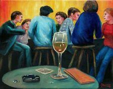 Jannys ART - Tönz - Modern Art Painting Moderne Kunst Öl auf Leinwand