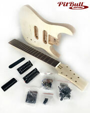 Pit Bull Guitars DMF-8 8 String Electric Guitar Kit (Mahogany Body)