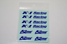 JAPAN MATERIAL K1 RACING KOSEI HIGH QUALITY  REPLACEMENT DECAL STICKER #R048
