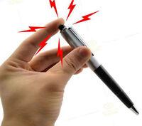 Novelty Gift Electric Shock Pen Toy Utility Gadget Gag Joke Funny Prank Trick
