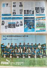 INTER FOOTBALL CLUB numero unico 1978 BORDON ALTOBELLI ORIALI BORDON MARINI