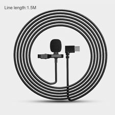 Lavalier Lapel Microphone Mic Type C For Samsung S8 Huawei P10/P20/P30 Xiaomi 8