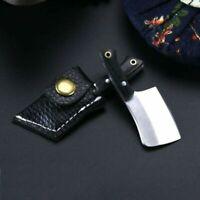 Stainless Steel Outdoor Mini/Folding -Knife-Pocket EDC Keychain-Survival-Tool US