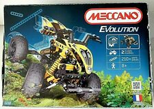 Meccano Evolution 2 Model Set 5210 - Opened But Unused With Printed Instructions