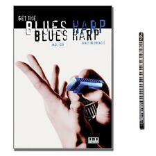 Get the Blues Harp mit CD, MusikBleistift - AMA Verlag - 610178 - 9783927190818