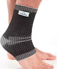 Vulkan Advanced Elastic Ankle Support - Large Black/Grey