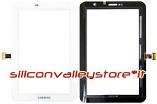 "VETRO TOUCH SCREEN SAMSUNG GALAXY TAB 2 P3100 P3110 7"" BIANCO DIGITIZER"
