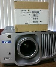 Genuine Oem Epson PowerLite 8300i Projector 5200 Ansi Lumens of brightness.