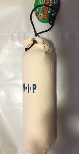 VIP Vo-Toys 10 inches long Training Dummy Tan Canvas Behavior Large Dog Toy
