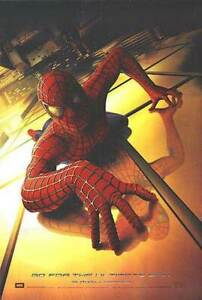 Spiderman (Advance) (Uv Coated High Gloss) (2002) Original Movie Poster