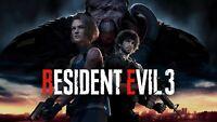 RESIDENT EVIL 3 (2020) STEAM PC LIFETIME ACCESS