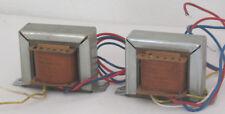 2 TELEFUNKEN ausgangsübertrager output transformer se STD 16