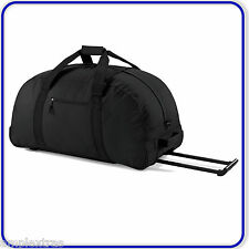 New Good Quality Large Classic Wheeled Travel Sport Gym Holdall Bag with Handle