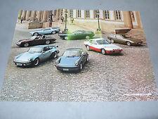 Prospekt Porsche Programm mit 924, 911 SC / Turbo, 928, 1980, 12 Seiten, folder