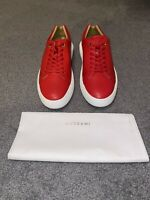 Men's Buscemi Uno Low Alce Sneakers - Red - Size 46