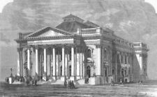 ELEPHANT & CASTLE. Rev Spurgeon's New Metropolitan Tabernacle, Newington, 1861