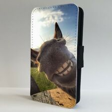 Donkey Grin Smiling Funny Face Big Ears FLIP PHONE CASE COVER for IPHONE SAMSUNG