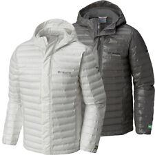 "$280 New Mens Columbia ""OutDry Ex Eco"" Titanium Heat Seal Waterproof Down Jacket"