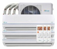 36000 BTU Tri Zone Ductless Mini Split Air Conditioner and Heat Pump - SEER 22