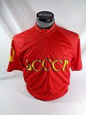 World Jerseys Soviet Union Russia CCCP Cycling/Bike Jersey Mens XL Extra Large