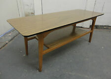 Solid Wood Vintage/Retro Coffee Tables with Shelves