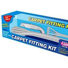 Stikatak Floor Pro Carpet Fitting Kit Stretcher Tucker Knife Re-fitting Carpet
