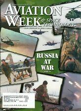 2000 Aviation Week Magazine: Russia At War/M-5 Nozzel Failure/Alaska Crash